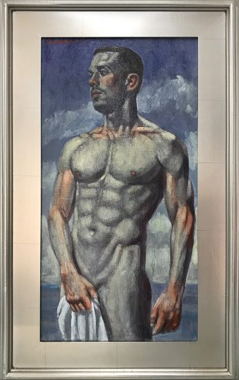 Mark Beard, [Bruce Sargeant (1898-1938)] Man with Towel