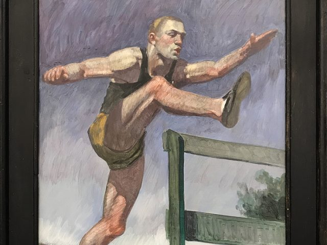 Mark Beard, [Bruce Sargeant (1898-1938)] Study for Jumping the Hurdles