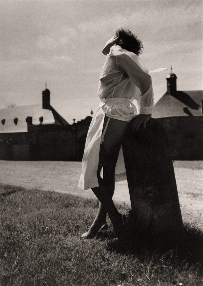 Untitled (Woman in a White Blouse)