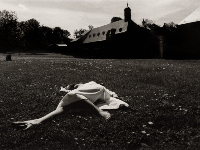 Horst P. Horst, Untitled (Woman Lying in a Field)