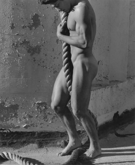 Herb Ritts, Tony with Rope, Los Angeles