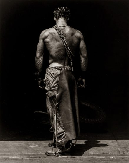 Herb Ritts, Fred – Backview with Chain, Hollywood