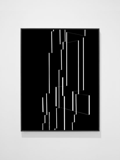 Joseph Desler Costa, White Tape Black Board