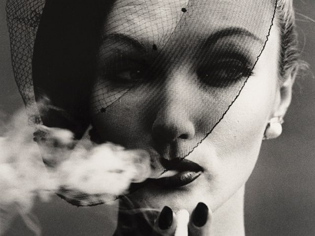William Klein, Smoke and Veil, Paris (Vogue)