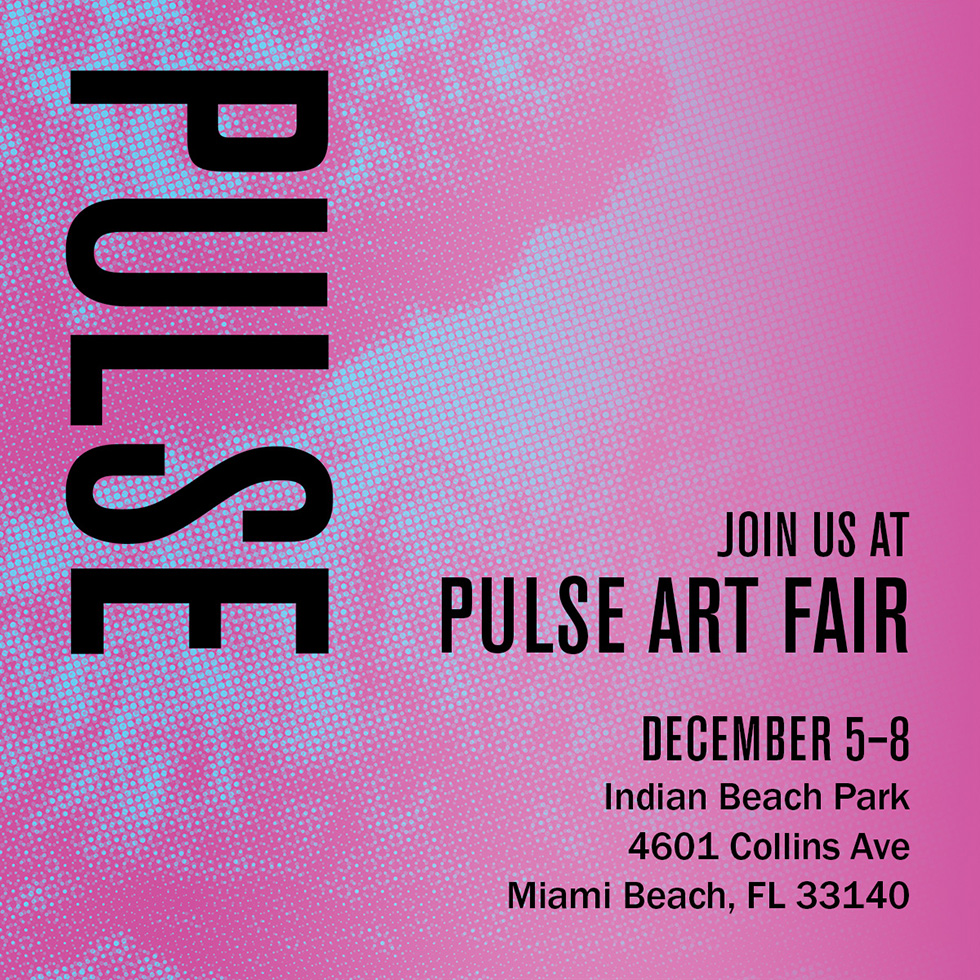 ClampArt exhibiting at Pulse Miami Beach 2019
