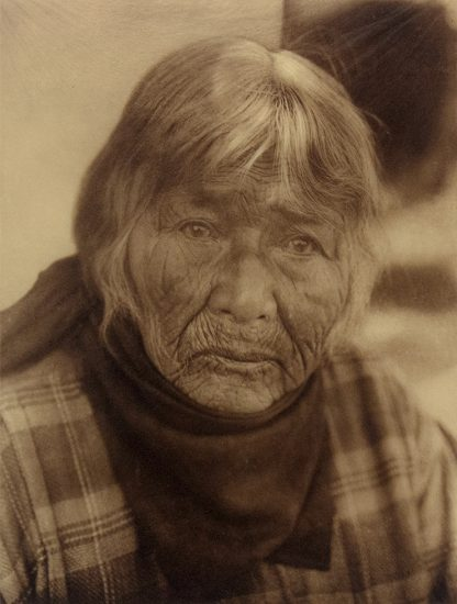 Edward Curtis, Aged Pomo Woman [Plate 488]