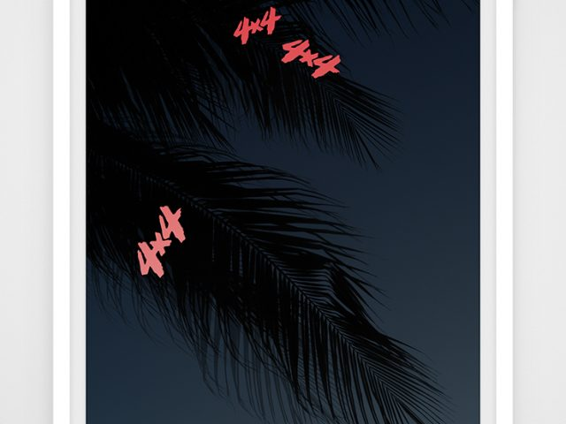 Joseph Desler Costa, Night Palms