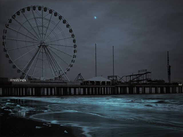 Michael Massaia, Steel Pier Moonrise