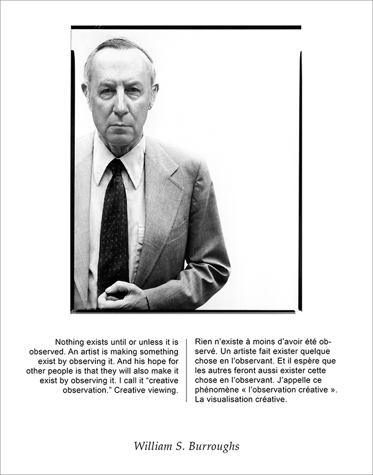 After Avedon/Burroughs