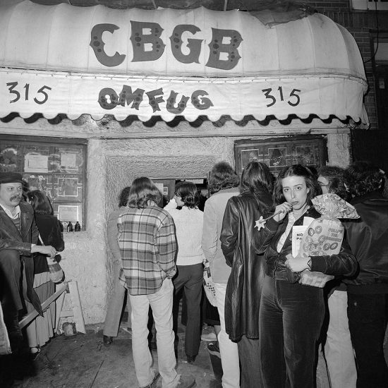 Meryl Meisler, A Flower Outside CBGB OMFUG