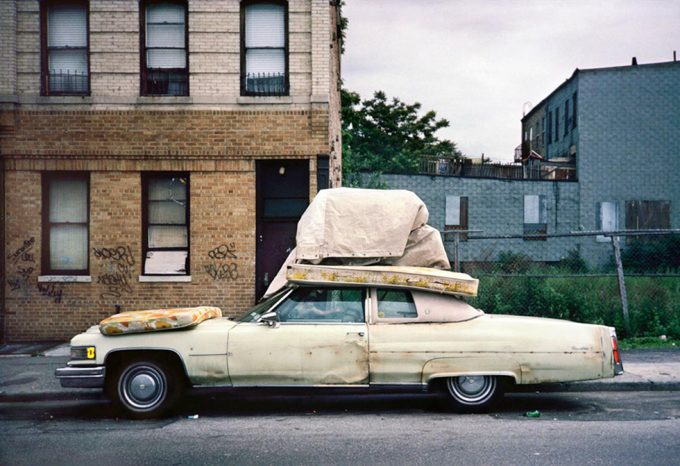Meryl Meisler, Bedding on Cadillac