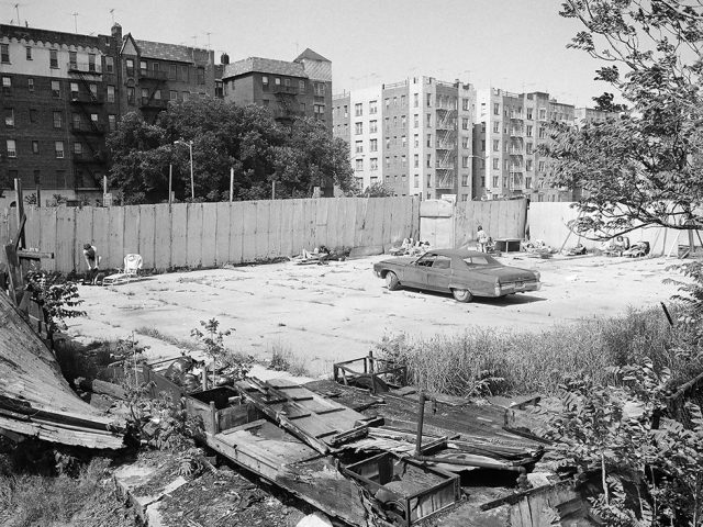 Meryl Meisler, Sun Bathers, Brighton Beach Parking Lot