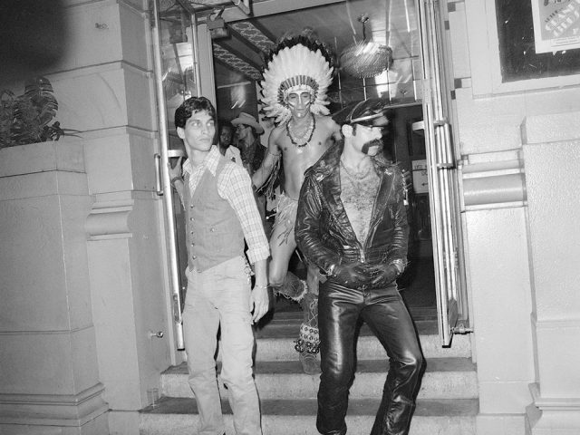 Meryl Meisler, The Village People Stepping Out of the Grand Ballroom