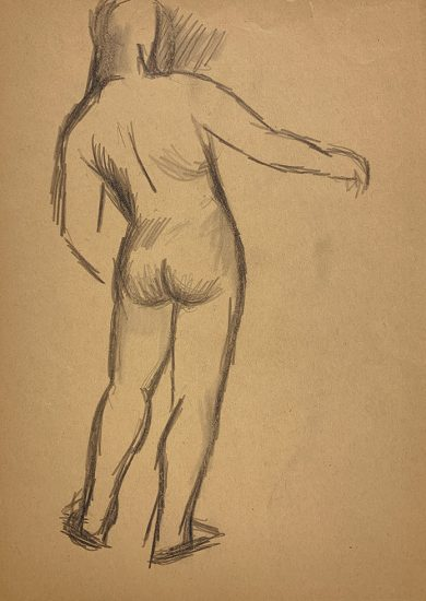 Jared French, Untitled (Male Figure) [Arm Extended]