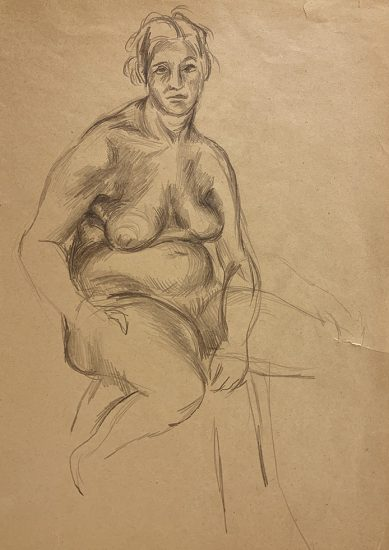 Jared French, Untitled (Female Figure)
