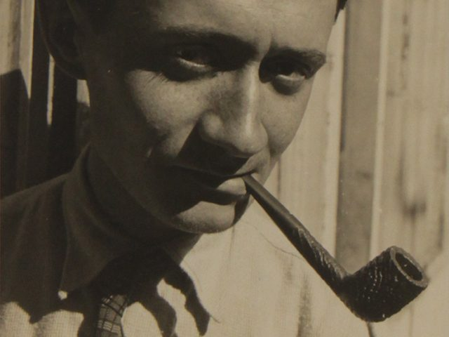 Maurice Tabard, Roger Parry Portrait