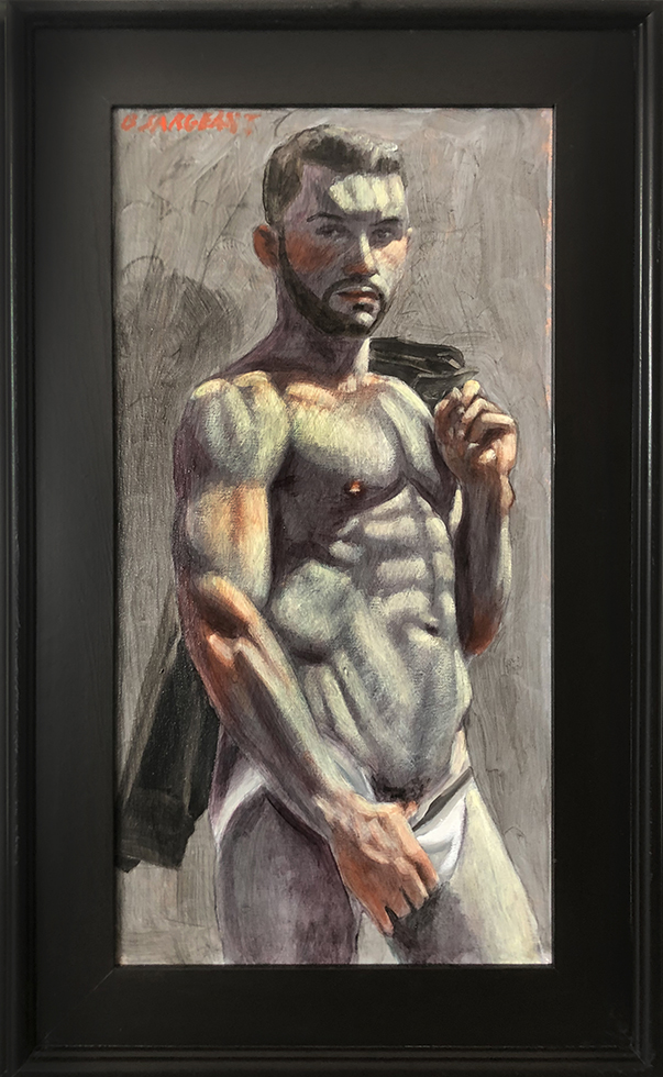 [Bruce Sargeant (1898-1938)] Christopher in a Jockstrap