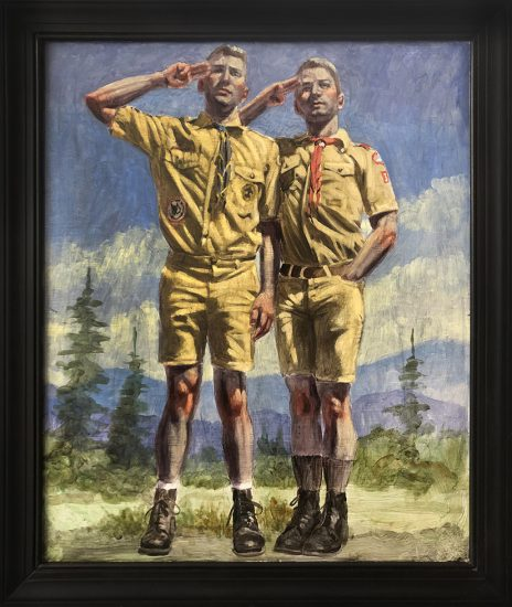 Mark Beard, Bruce Sargeant, Double Scout Salute