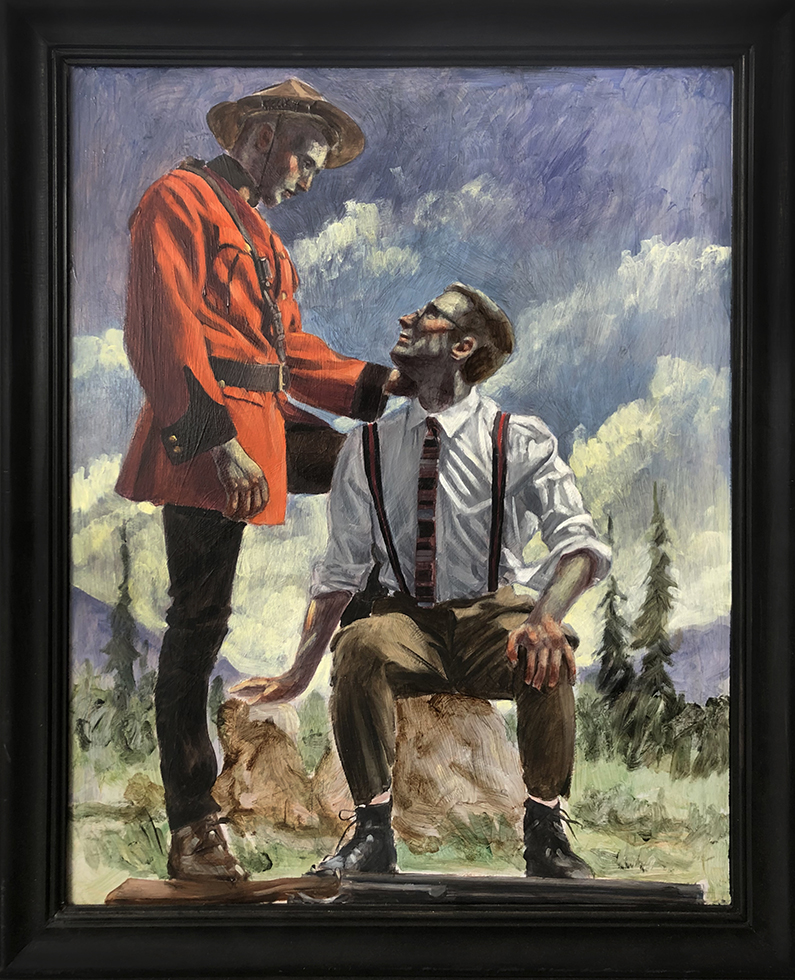 [Bruce Sargeant (1898-1938)] Helpful Canadian Mountie