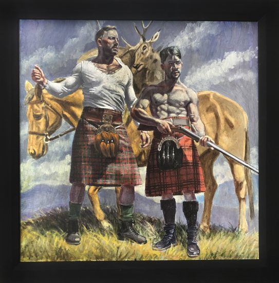 Mark Beard, Bruce Sargeant, Scottish Hunters,