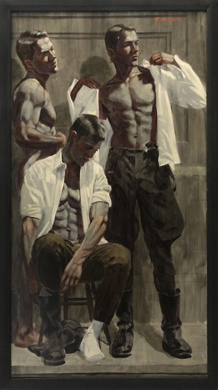 Mark Beard, Bruce Sargeant, Three Men Dressing
