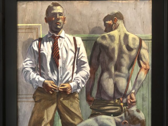 Mark Beard, Bruce Sargeant, Three Men Undressing