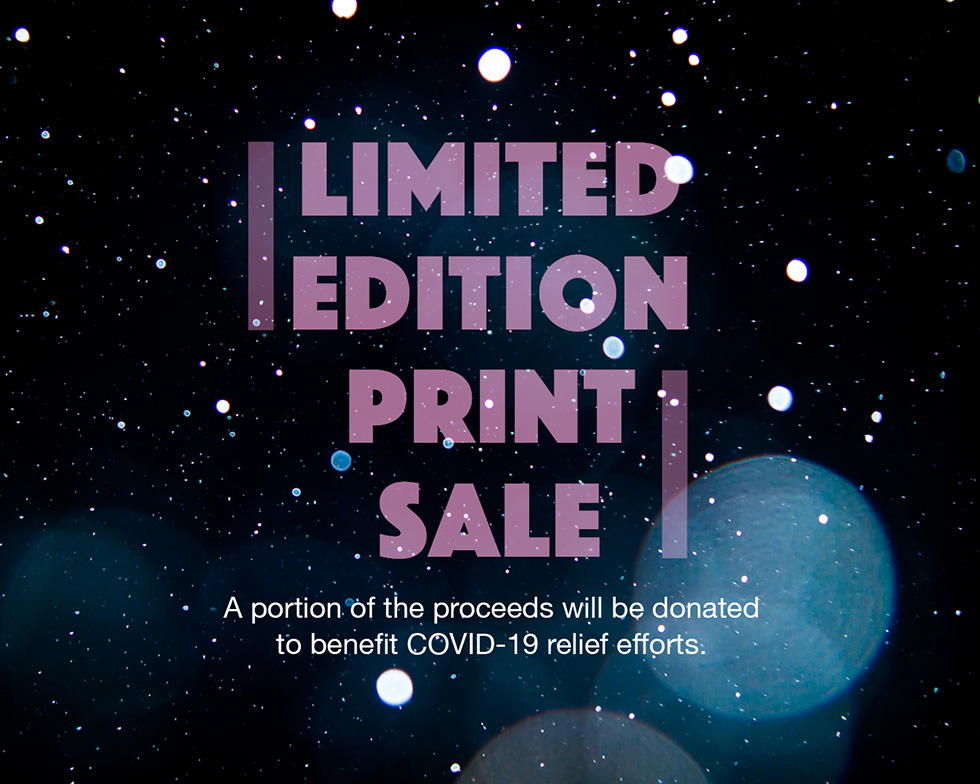Lane Coder Print Sale to Benefit COVID-19 Relief Efforts