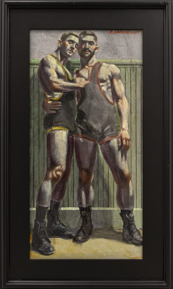 [Bruce Sargeant (1898-1938)] Study for Teammates in Singlets