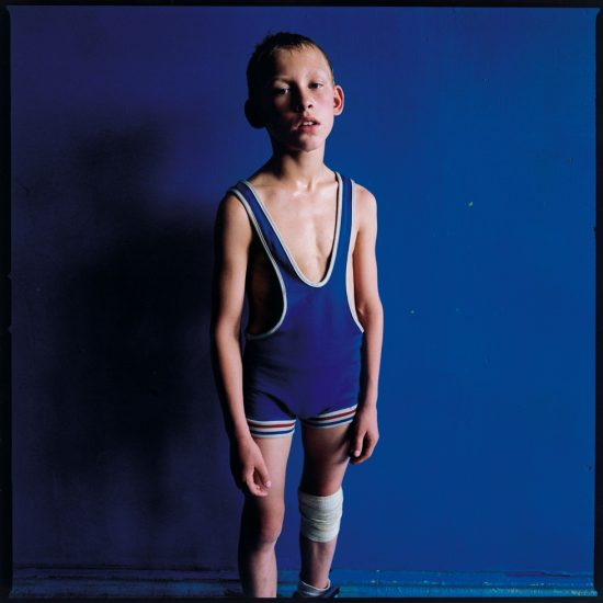 Michal Chelbin, Boy with a Bandage, Ukraine