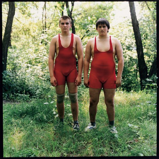 Michal Chelbin, Two Wrestlers, Ukraine