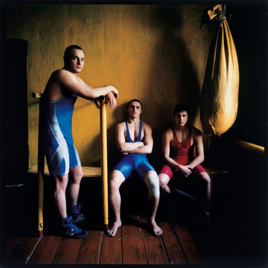 Michal Chelbin, Three Wrestlers, Russia