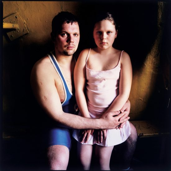 Michael Chelbin, Andjey and his daughter, Russia
