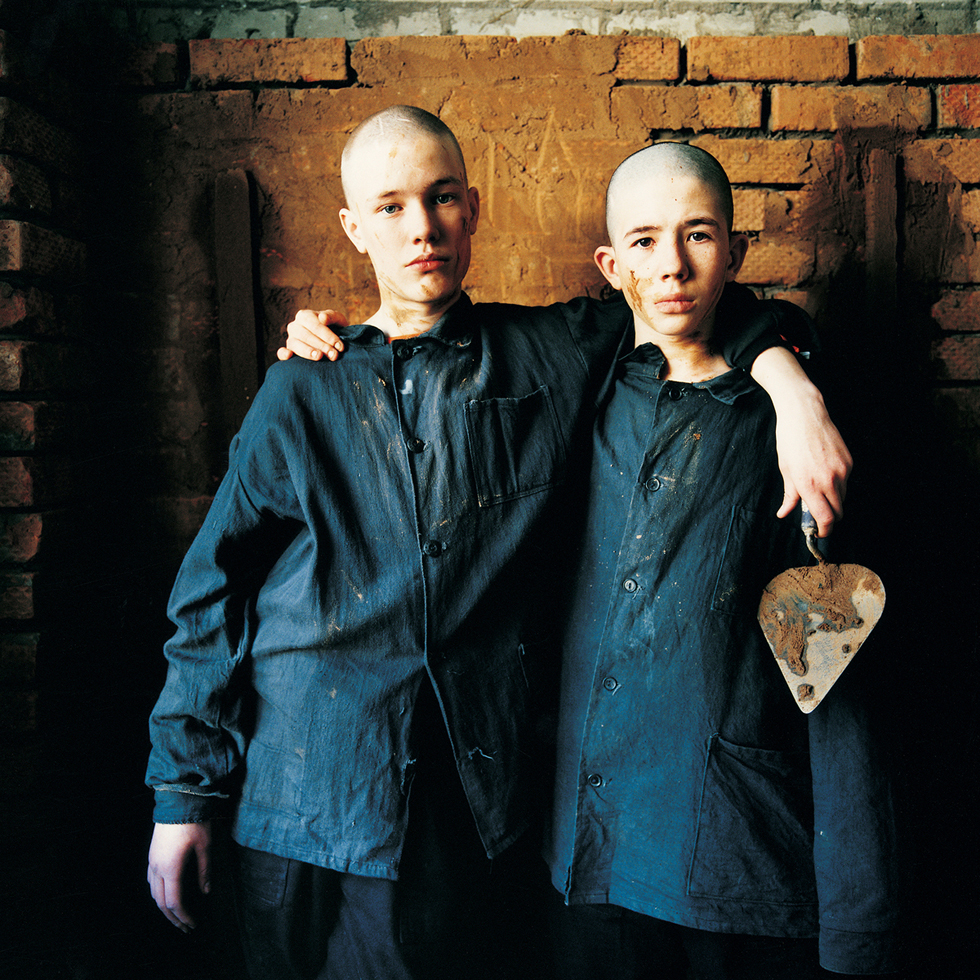 Dima and Maksim (Sentenced for Violence and Robbery, Brick Building Class): Juvenile Prison for Boys