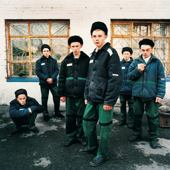 Michal Chelbin, Young Prisoners, Juvenile Prison for Boys, Russia