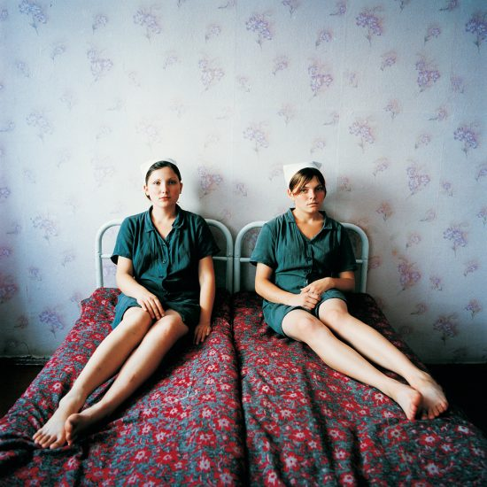 Michael Chelbin, Lena and Katya, Juvenile Prison for Girls, Ukraine