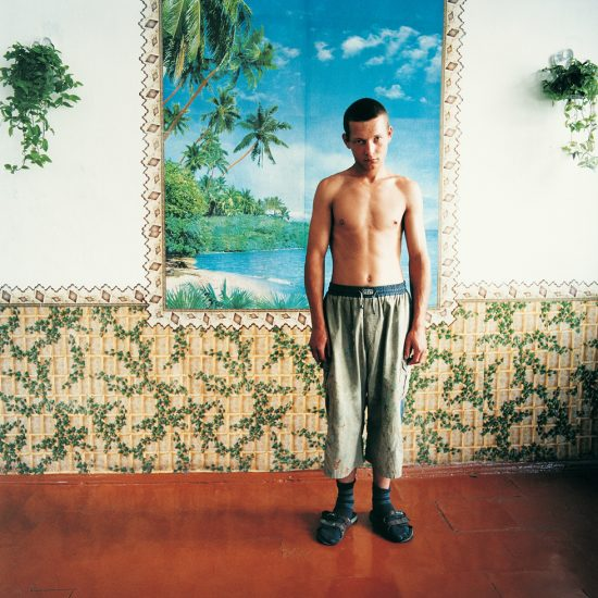 Michal Chelbin, Palm Trees, Men's Prison, Ukraine