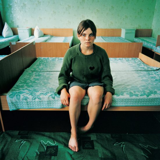 Michal Chelbin, Black Heart (Katya, Sentenced for Theft), Juvenile prison for girls, Ukraine