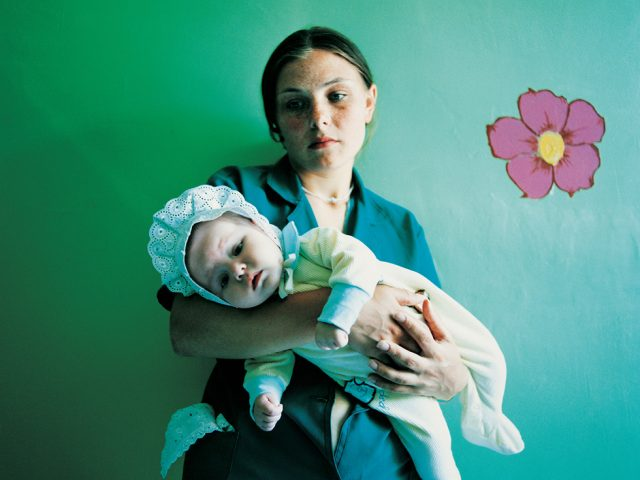 Michal Chelbin, Diana with Yulia, Prison for Women with Children, Sentenced for Theft, Ukraine