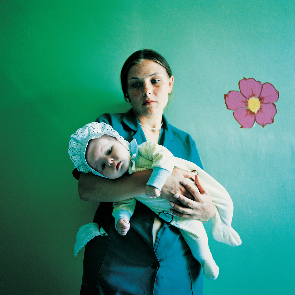 Diana with Yulia (Sentenced for Theft): Prison for Women with Children