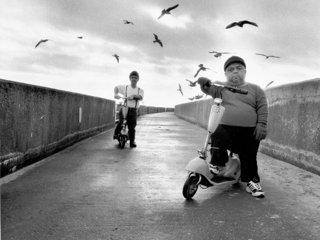 Michal Chelbin, The Scooters, England