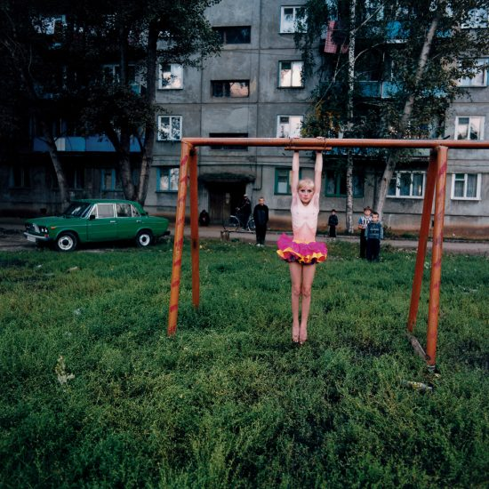 Michal Chelbin, Xenia on the playground, Russia