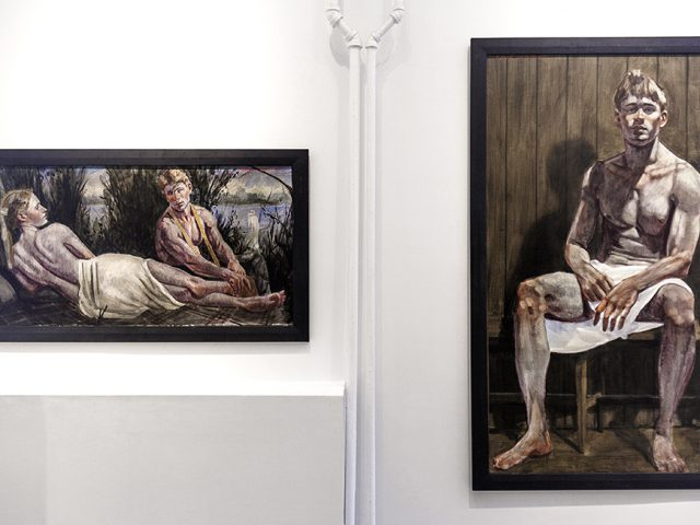 Mark Beard, Bruce Sargeant, Private Paintings, Installation View