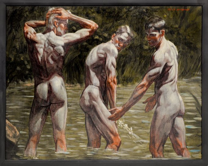 Mark Beard, Bruce Sargeant, Bathers by the Shore