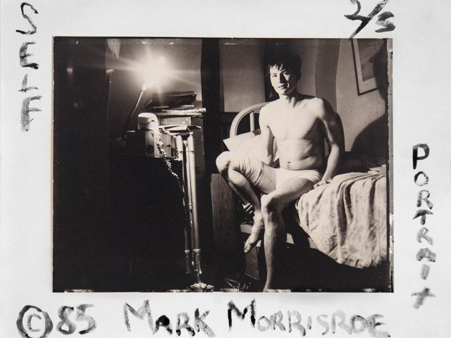 Mark Morrisroe, Self Portrait with Diane Arbus