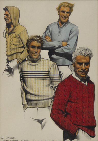 Stavrinos, Four Men in Sweaters