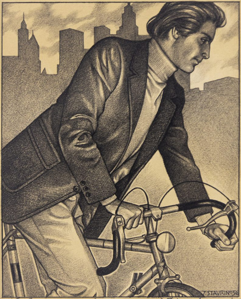 Untitled (Man on a Bicycle)