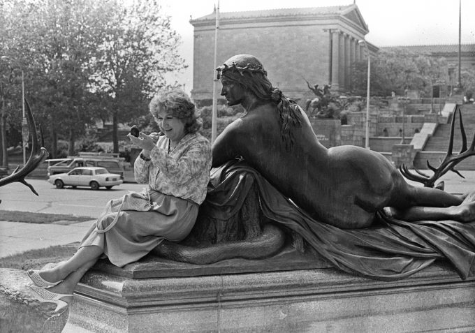 Mariette Pathy Allen, Alison at the Philadelphia Museum of Art