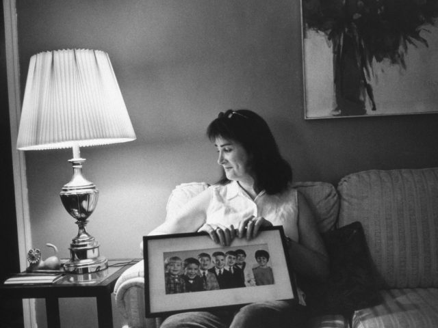 Mariette Pathy Allen, Mara with a photograph of her siblings