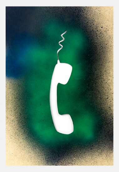 Jane Bauman, Green Phone, 1983