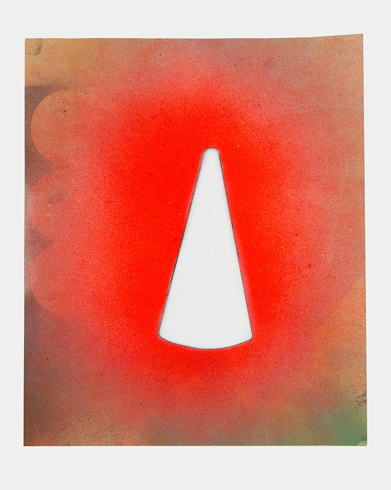 Jane Bauman/Mark C, Orange Pylon